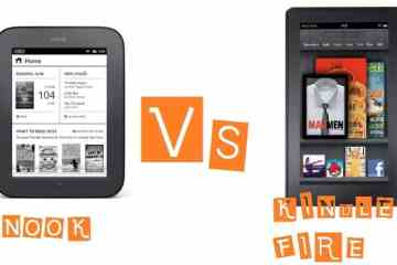 NOOK VS KINDLE - Kindle vs Nook :The E-reader wars are upon us