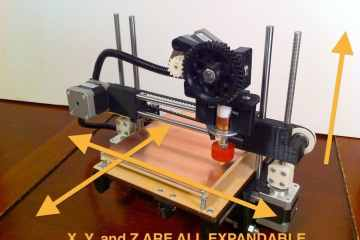 3d printer from printbot