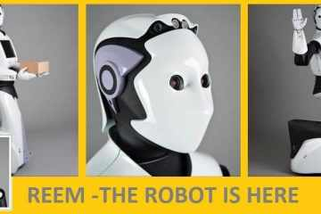 REEM - Coming soon : life-size Robots to replace human workers.