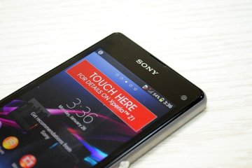 Sony Xperi Z1 Compact 15 - Sony Xperia Z1 Compact  Unboxing.[Image Gallery]