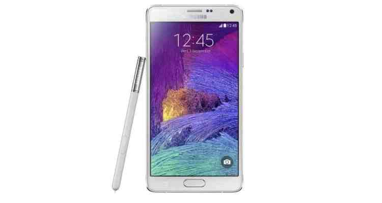 SM N910 Frost White Front Pen 002 - Samsung Galaxy Note 4 Review