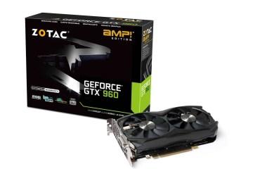 ZOTAC GeForce GTX 960 AMP Edition - ZOTAC Introduces Its GeForce GTX 960 series graphics card