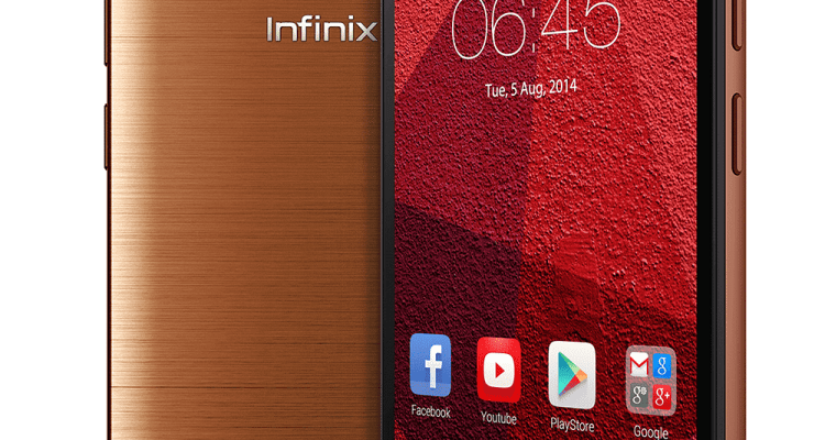 Infinix HotNote X551 Copper Brown Front 2 - Infinix Mobility Launches Region's Fastest Charging Smartphone