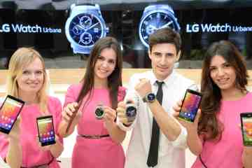 MWC2015 00 - Lg's Range Of Mobile Devices On Display At Mwc 2015