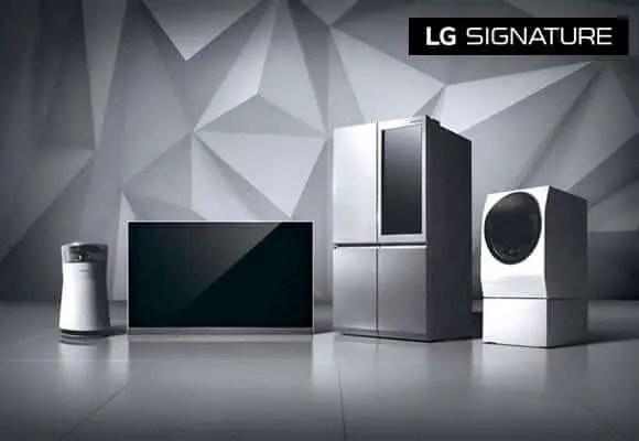 "LGS - LG's First Ultra-Premium Brand ""LG SIGNATURE"" Debuts Across the GCC"