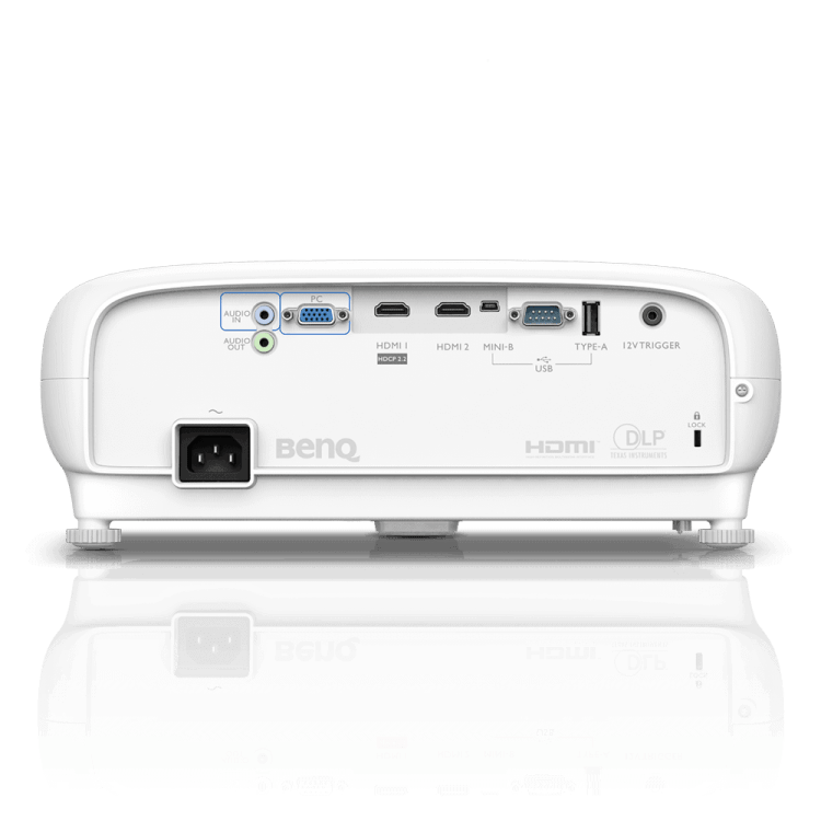 05 w1700 back - Benq W1700 Projector Review