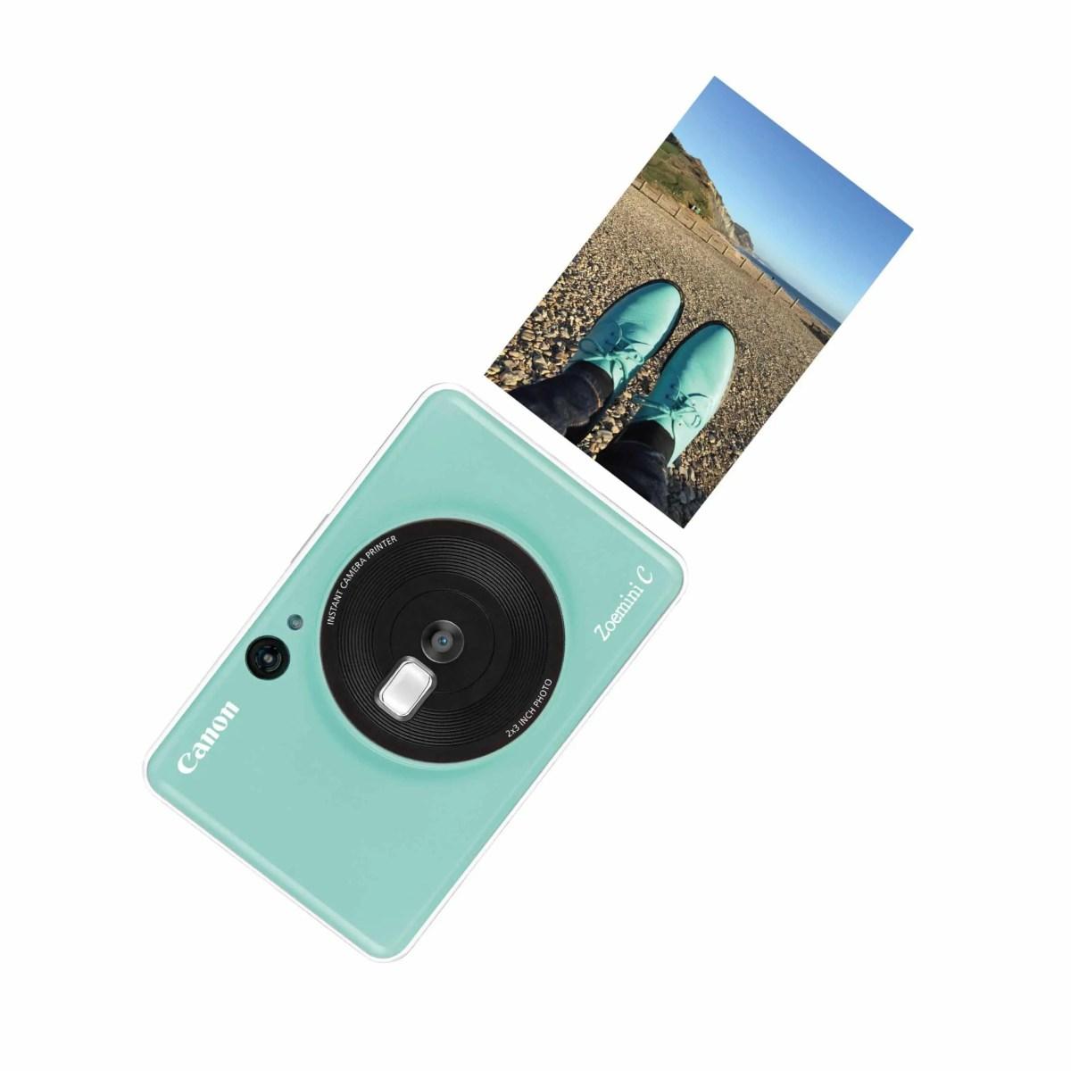 Instant Shoot & Print Camera Canon Zoemini S and Canon Zoemini C