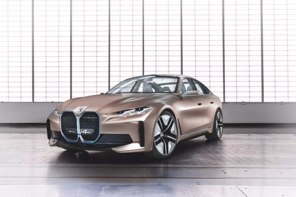 BMW reveals its new Concept i4