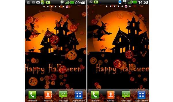 Free Android Halloween Live Wallpapers