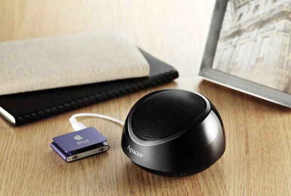 APACER Unveils WS211 Buetooth Speaker