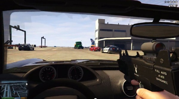 GTA:V Will Feature FPS Mode For The PC