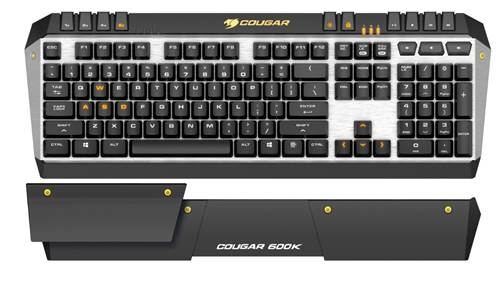 COUGAR Launches 600K Mechanical Gaming Keyboard