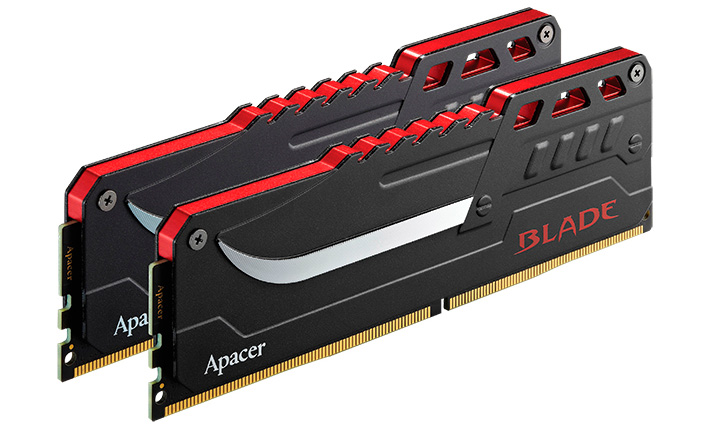 """Apacer Launches """"BLADE"""" DDR4 Overclocking Memory Module"""