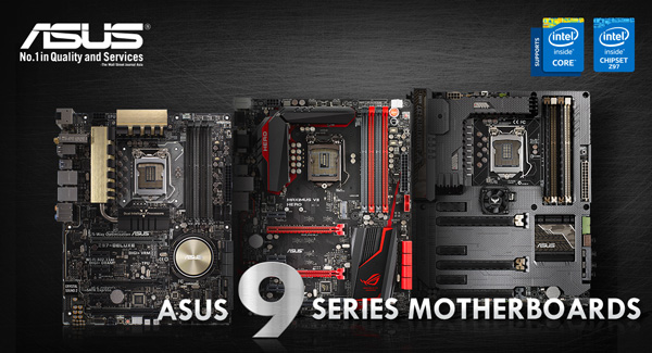 ASUS is First To Support 5th-Generation Intel Core Processors