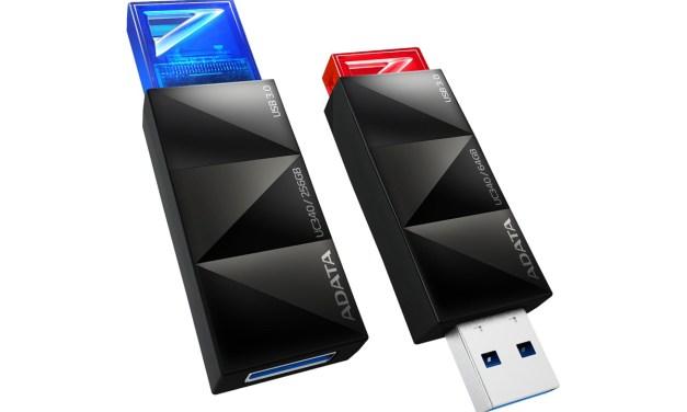 ADATA Clicks Off a Stylish New UC340 USB 3.0 Flash Drive