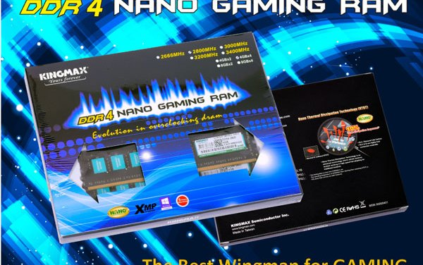 KINGMAX Wants You To Invest on Their Nano Gaming RAM