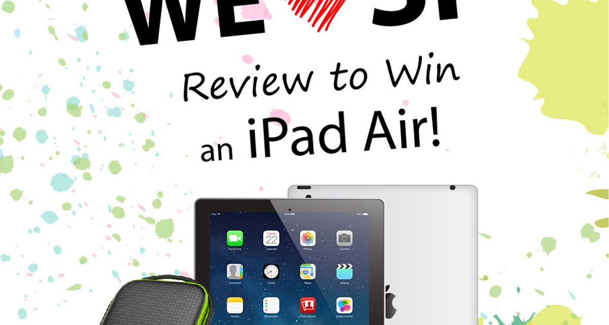 Contest Alert: Win An iPad Air with SP!