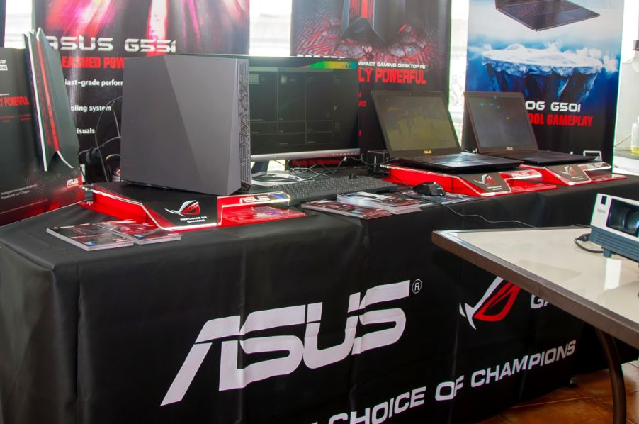 ASUS Philippines Introduced new ROG Notebooks and Desktops