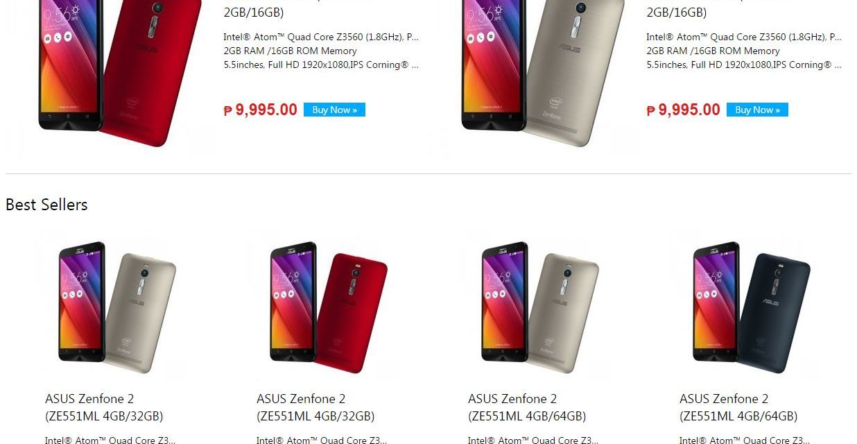ASUS PH Online Store Officially Launched