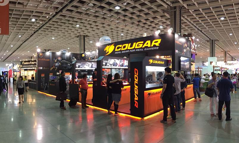 COUGAR Shows New Generation of Gaming Peripherals @ Computex 2015