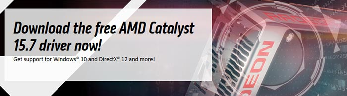 AMD Catalyst™ 15.7 Driver: Enabling Premium Windows 10 Experience