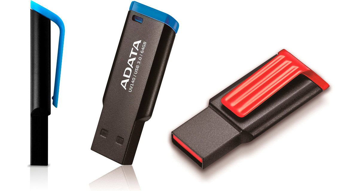 ADATA Launches the UV140 USB 3.0 Flash Drive