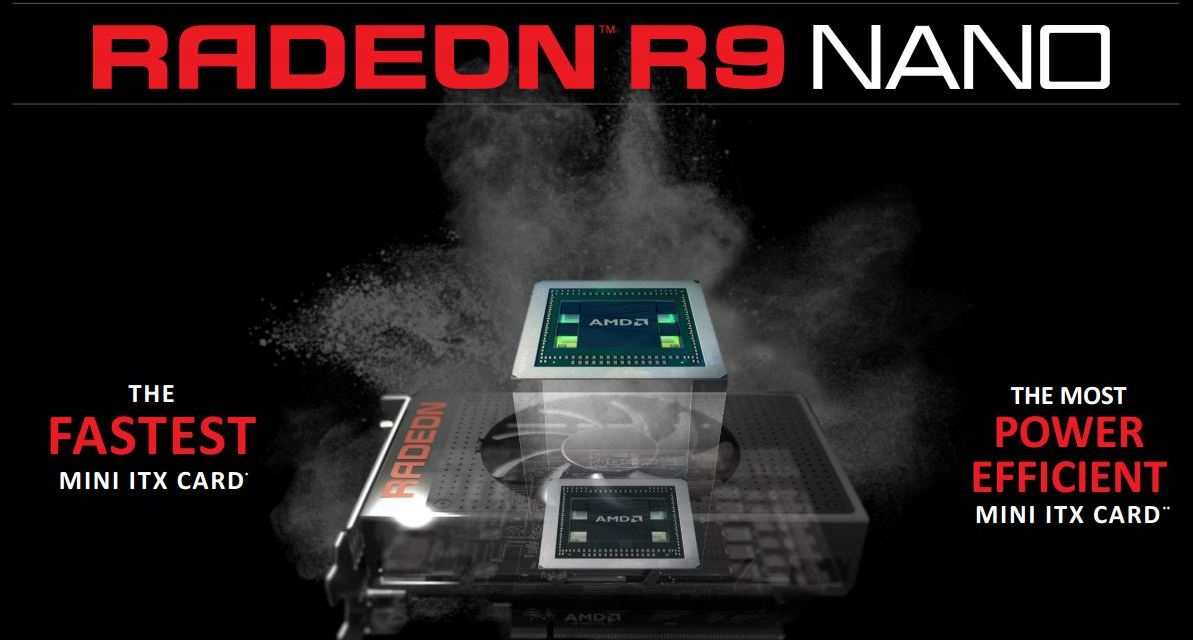 AMD R9 (Fury) Nano Preview: 649 USD ITX Champ From AMD