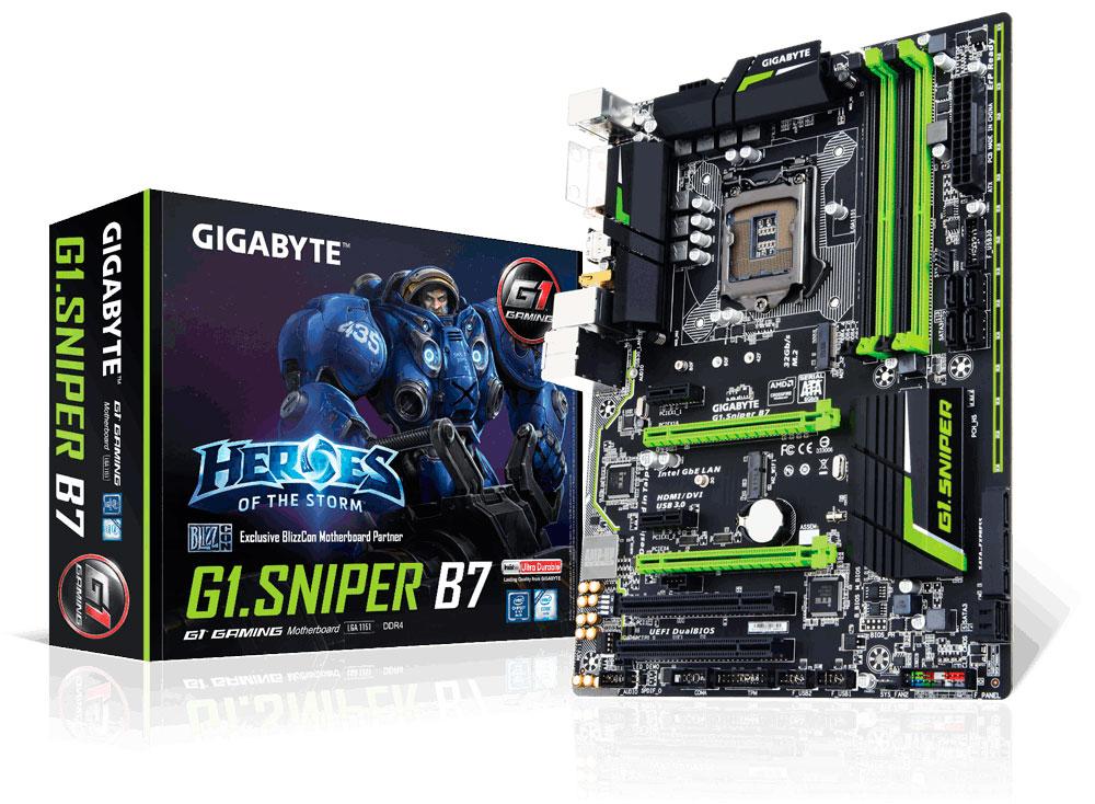 GIGABYTE Teases G1.Sniper B7 Motherboard   TechPorn