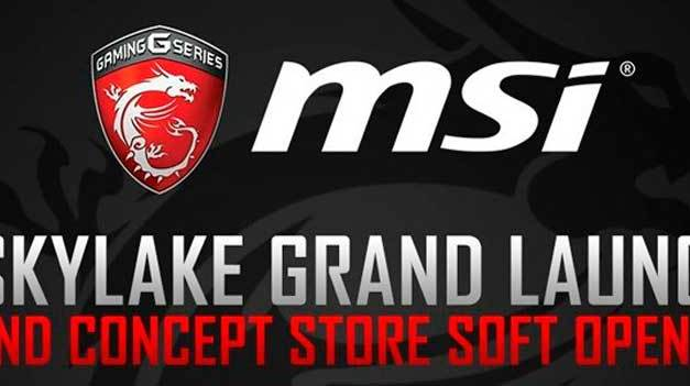 MSI To Celebrate Concept Store Opening At SM MOA
