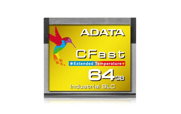 ADATA Releases ICFS332 Industrial CFast Card