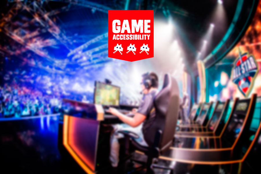 An eSports Event Invitation for Gamers w/ Disability