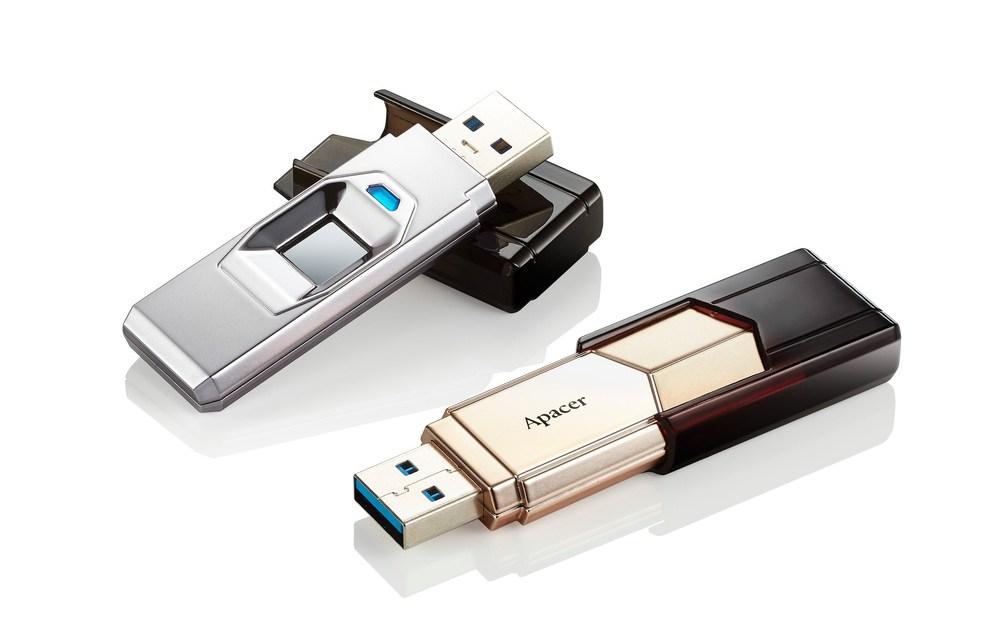 Apacer Outs AH650 Fingerprint Flash Drive