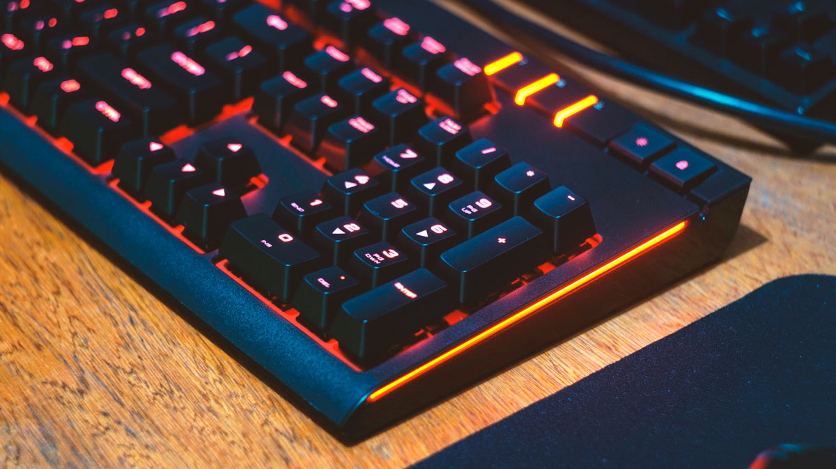 Corsair Strafe Mechanical Keyboard Review Techporn Gaming Cherry Mx Brown Red Led