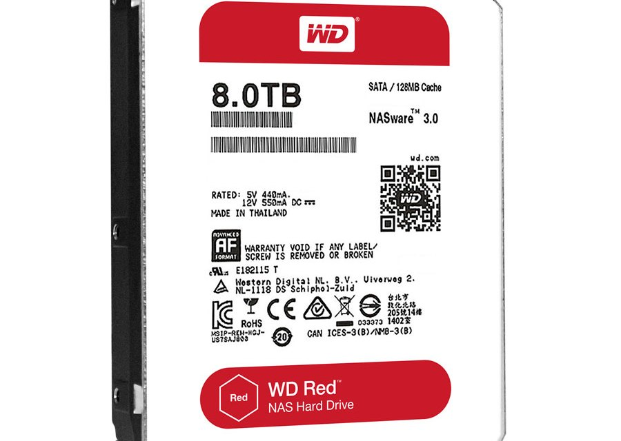 WD Announces 8 TB Helium Filled Drives
