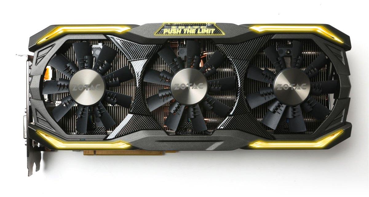 ZOTAC Reveals GTX 1080 AMP & AMP Extreme Graphics