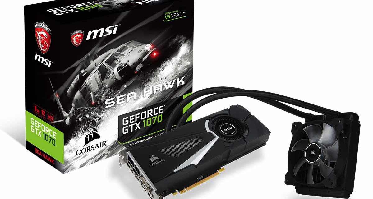 MSI Outs Full GTX 1070 Line-Up