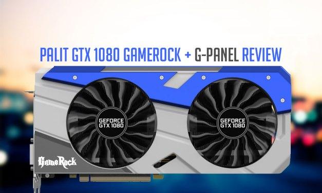 Palit GeForce GTX 1080 GameRock Edition Review