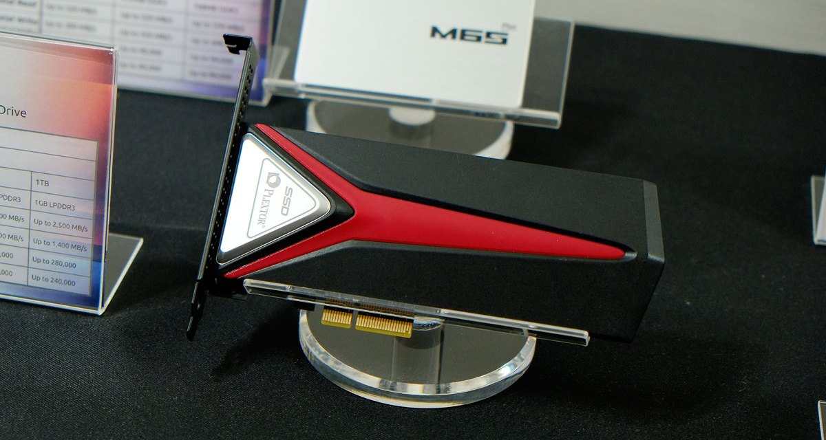 Plextor States M8Pe NVMe SSD For Professional Gaming