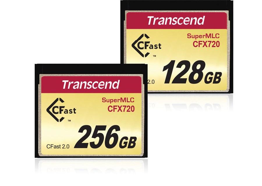 Transcend Intros Industrial-Grade SuperMLC CFast 2.0 CFX720 Memory Card