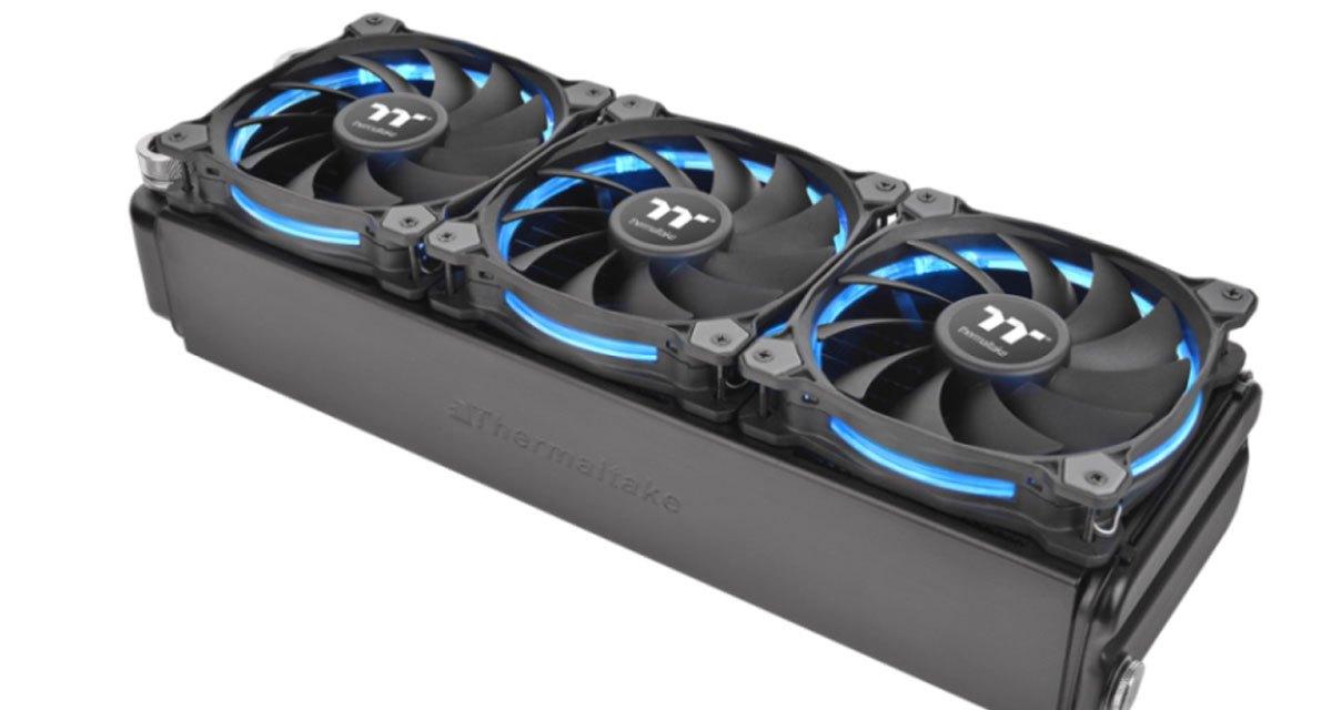 Thermaltake Announces Riing LED RGB Radiator Fan TT Premium
