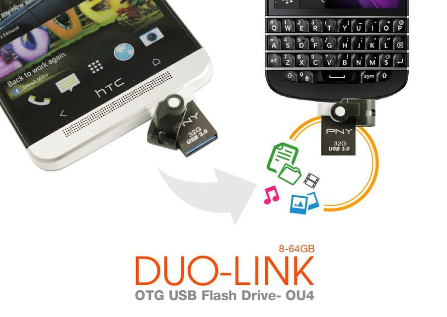 PNY Launches DUO-LINK OU4 OTG USB at Lazada