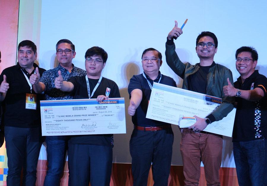 U:HAC Manila Winners Centered on Digital Banking Applications