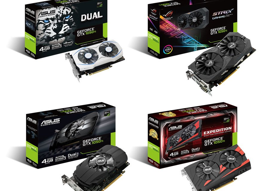 ASUS Announces Their Full GTX 1050 Lineup