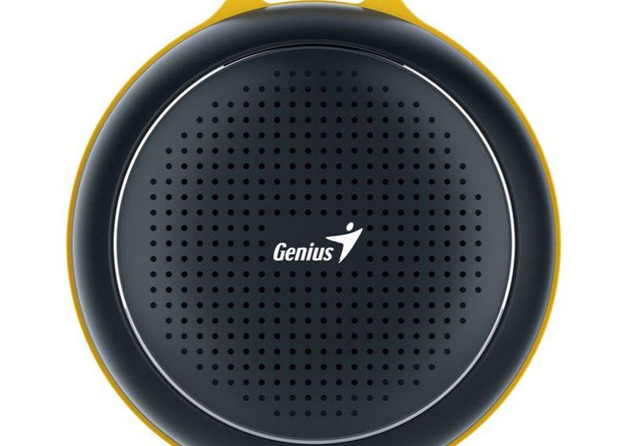 Genius Shows Off SP-906BT: Powerful Portable Bluetooth Speaker