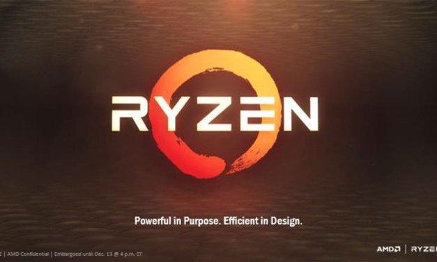 AMD Ryzen Revealed At The New Horizon Event