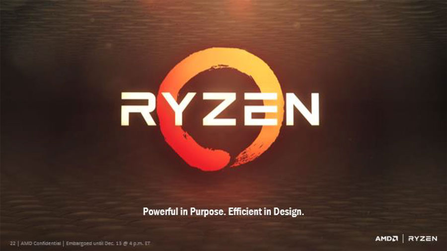 AMD Ryzen Revealed At The New Horizon Event