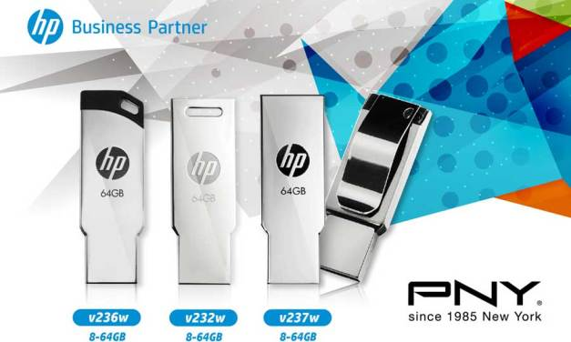 PNY Releases Stylish HP V236W V232W V237W USB Flash Drives
