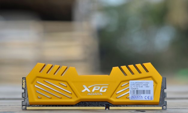 ADATA XPG V2 DDR3 2400MHz 8GB Memory Kit Review