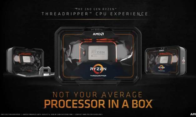 AMD Details 2nd Gen Ryzen Threadripper 2970WX and 2920X Availability