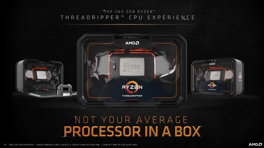 AMD Details 2nd Gen Ryzen Threadripper 2970WX and 2920X Availability